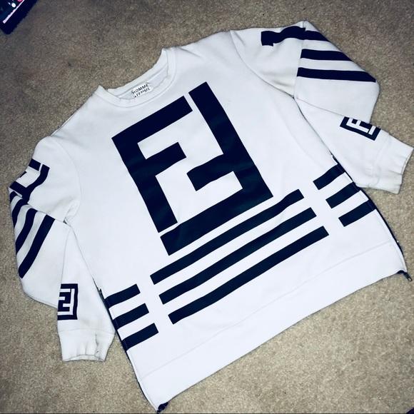 e233efc64aba Fendi Sweaters   Homme Femme Las Angeles White Sweater   Poshmark